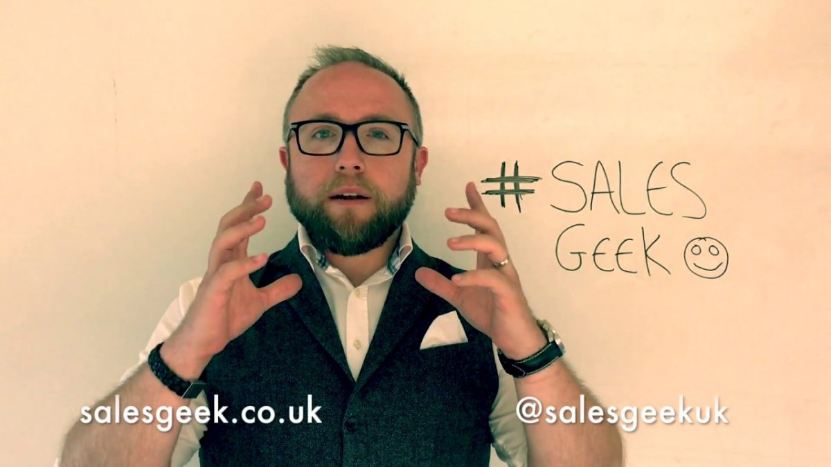 "Weekly Geek Episode #18 – You don't just ""Get"" customers you ""Win"" Them!"