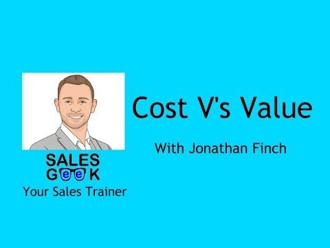 Cost V's Value Weekly Training Geek 1