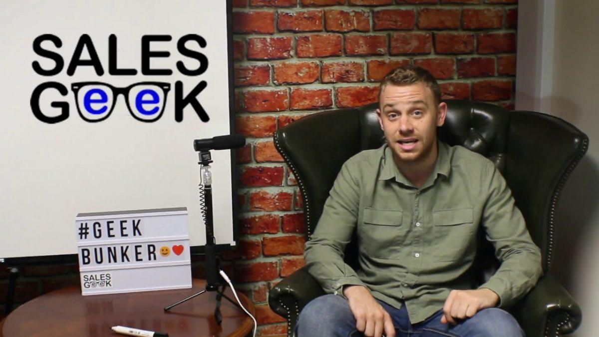 Sales Geek Academy Announcement
