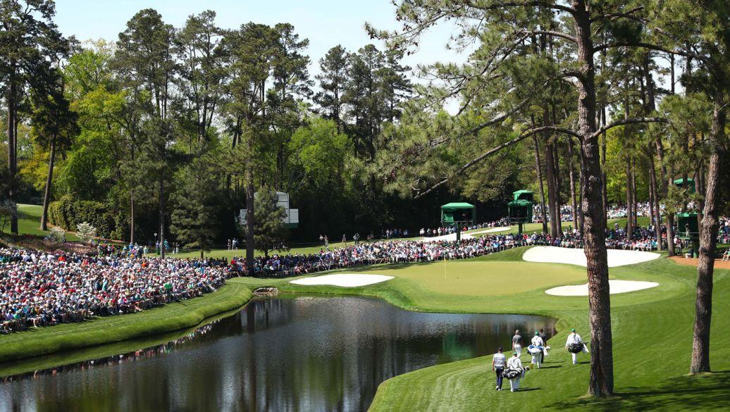 Augusta 16th hole