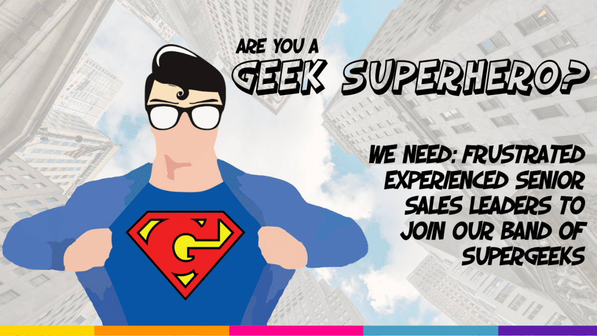 Are you a geek superhero