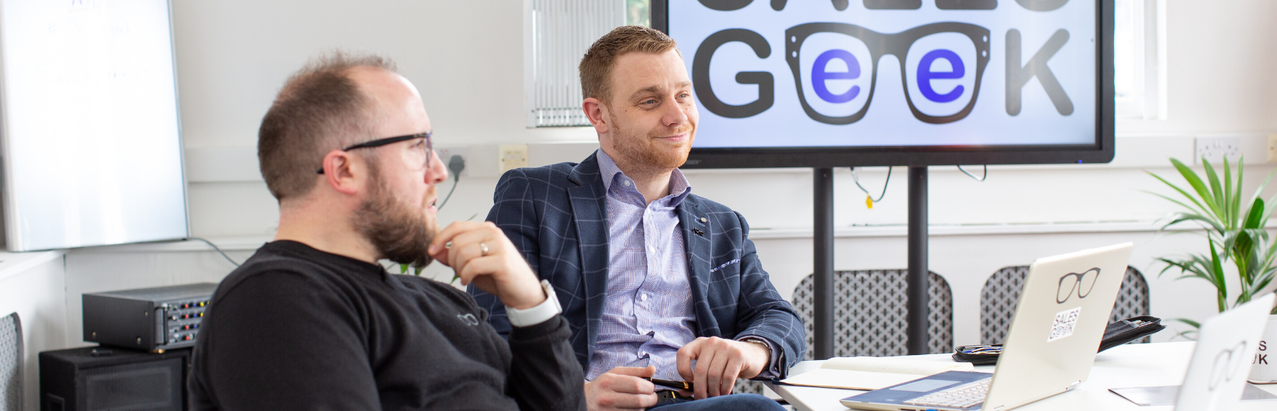 Image of Sales Geek's Director of Group Sales JONATHAN FINCH. In this article he suggests three reasons likely to be at the heart of why your sales team is currently underperforming.​