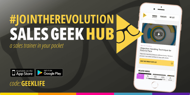 The Sales Geek Hub Join the revolution