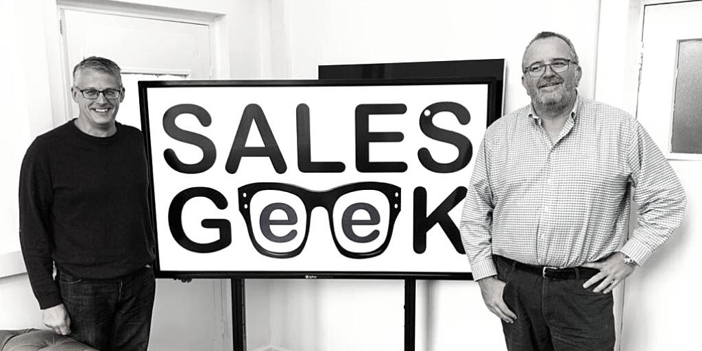Tony Capper & Simon Damp join Sales Geek