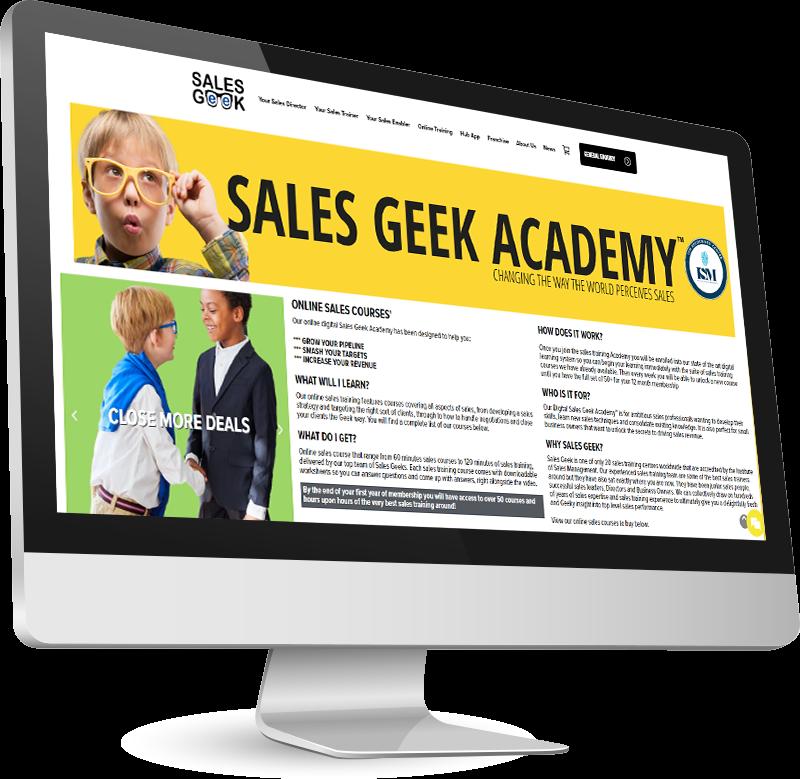 Sales Geek monitor