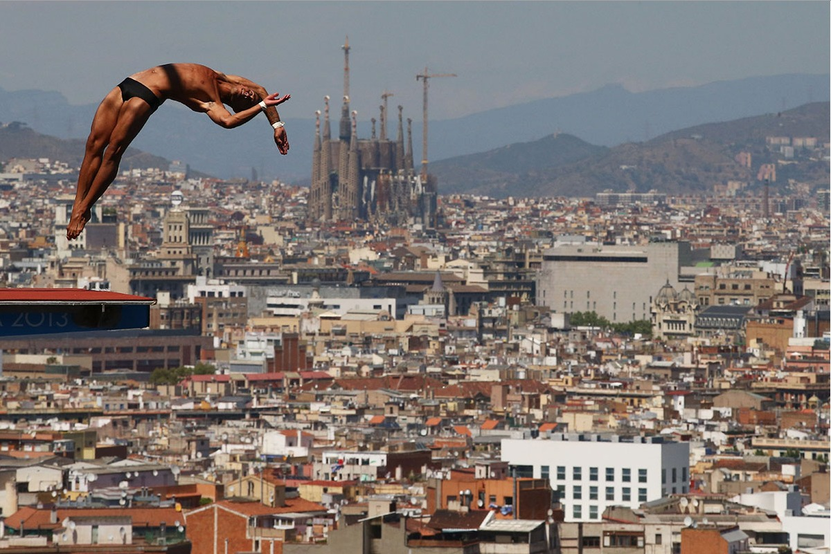 The Barcelona Diving venue was amazing