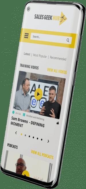 sales geek hub app